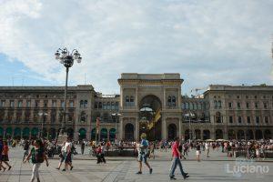 Galleria Vittorio Emanuele II Milano - Lombardia - Italia
