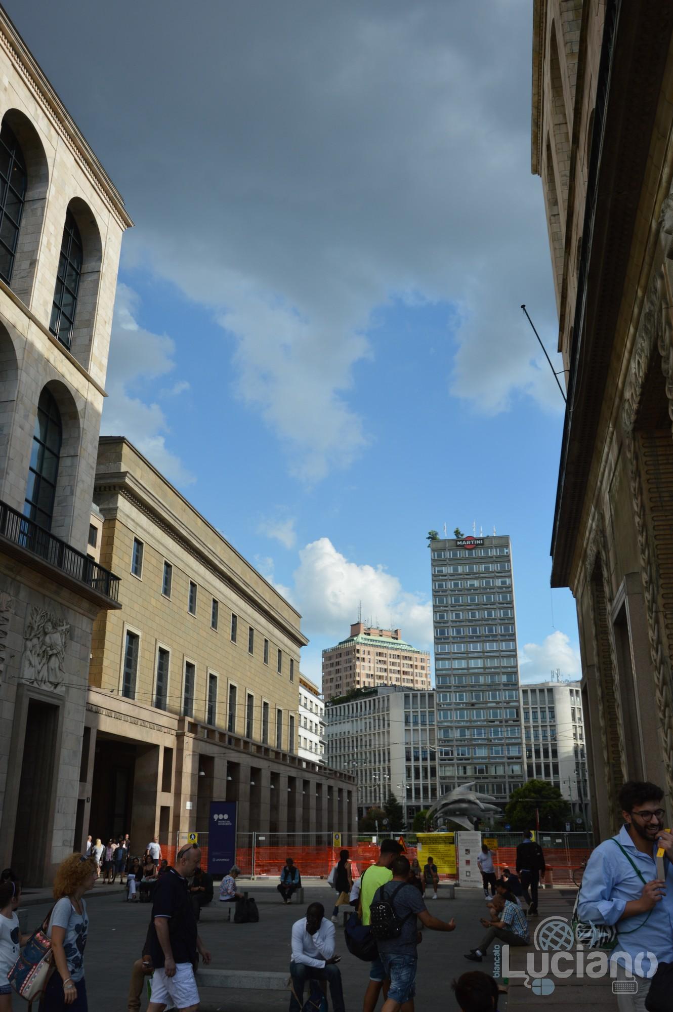 Terrazza Martini e Torre Velasca - Milano - Lombardia - Italia