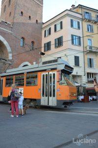 Tram, Colonne di San Lorenzo - Milano - Lombardia - ItaliaMilano - Lombardia - Italia