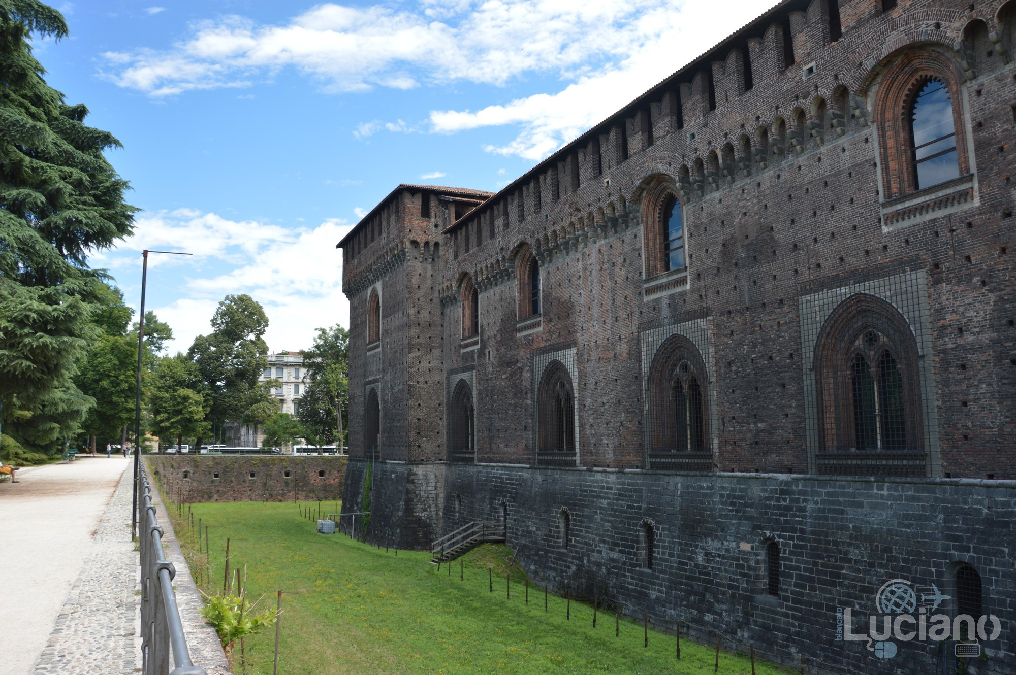 Milano - Castello Sforzesco - Lombardia - Italia