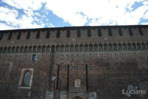 Milano - Castello Sforzesco, interno cortili - Lombardia - Italia