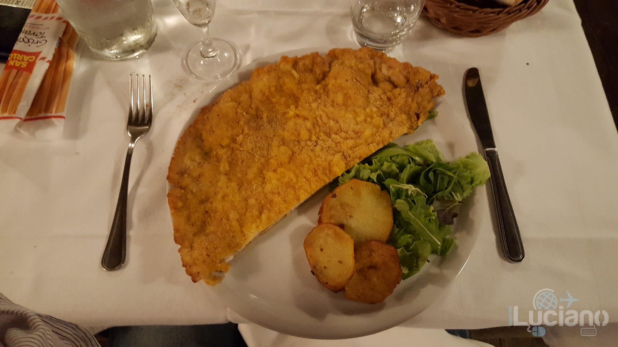Osteria - Conchetta - Milano - Cucina Meneghina - cotoletta!!!