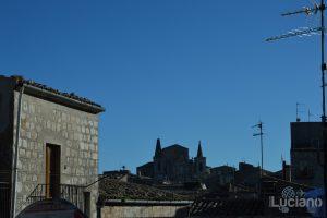Vista chiesa Santa Maria di Loreto nel borgo di Petralia Soprana - Palermo -  I Borghi più belli d'Italia - Borgo più bello d'Italia 2018