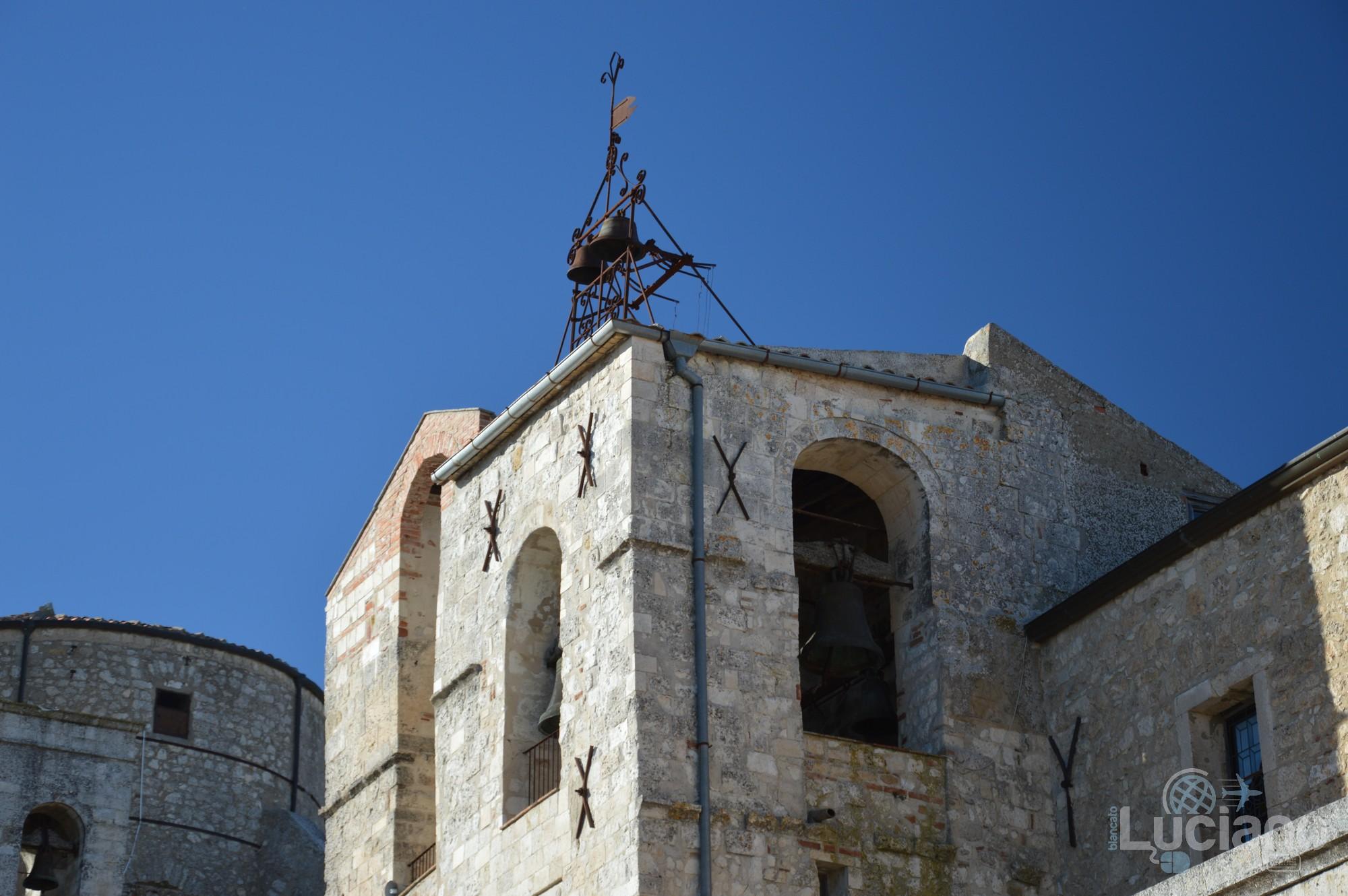 Campanile della Chiesa Matrice nel borgo di Petralia Soprana - Palermo -  I Borghi più belli d'Italia - Borgo più bello d'Italia 2018
