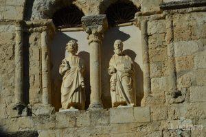 Statue nel campanile della Chiesa Matrice nel borgo di Petralia Soprana - Palermo -  I Borghi più belli d'Italia - Borgo più bello d'Italia 2018