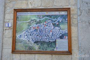 Mappa - Petralia Soprana - Palermo -  I Borghi più belli d'Italia - Borgo più bello d'Italia 2018