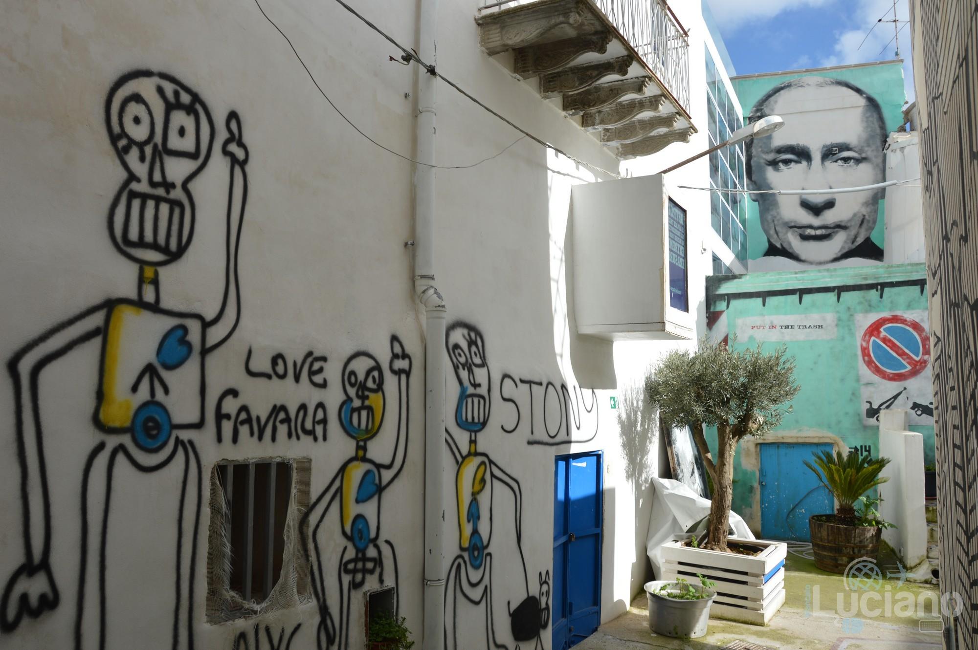 LOVE FAVARA e PUT IN THE TRASH per le vie del per le vie del Farm Cultural Park a Favara (AG)