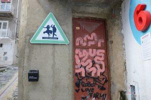 per le vie del per le vie del Farm Cultural Park a Favara (AG)