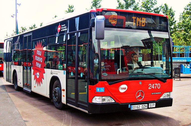 autobus urbano barcellona