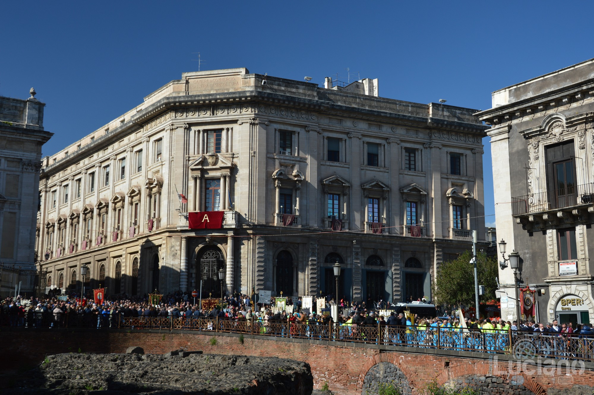 Camera Di Commercio Industria Artig.E Agric.Di Catania. In giro per catania, durante i festeggiamenti per Sant'Agata 2019 - Catania (CT)