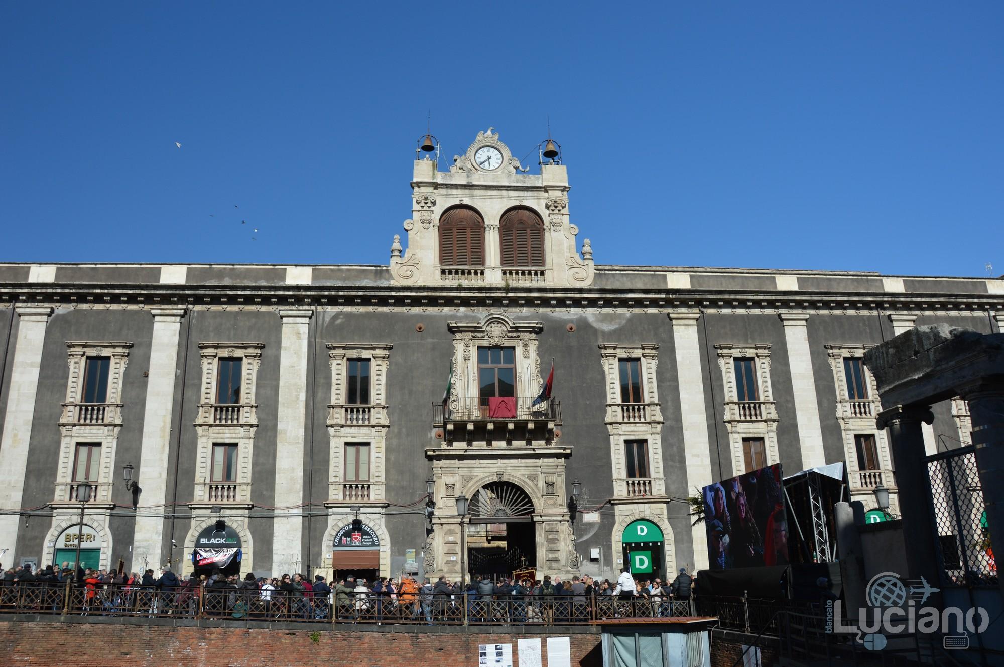 Palazzo Tezzano. In giro per catania, durante i festeggiamenti per Sant'Agata 2019 - Catania (CT)