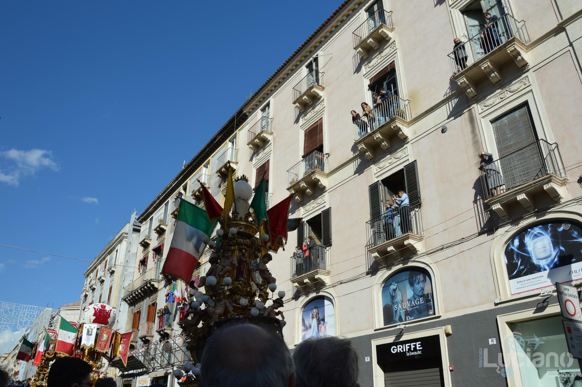 Candelora in via Etnea, apertura della festa di Sant'Agata 2019 - Catania (CT)