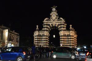 Porta Garibaldi O Ferdinandea - Piazza Palestro - Durante i festeggiamenti per Sant'Agata 2019 - Catania (CT)