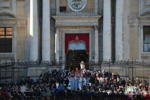 Chiesa San Biagio in Sant'Agata alla Fornace, Piazza Stesicoro. In giro per catania, durante i festeggiamenti per Sant'Agata 2019 - Catania (CT)
