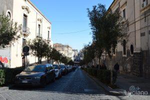 Via di San Giuliano, durante i festeggiamenti per Sant'Agata 2019 - Catania (CT)