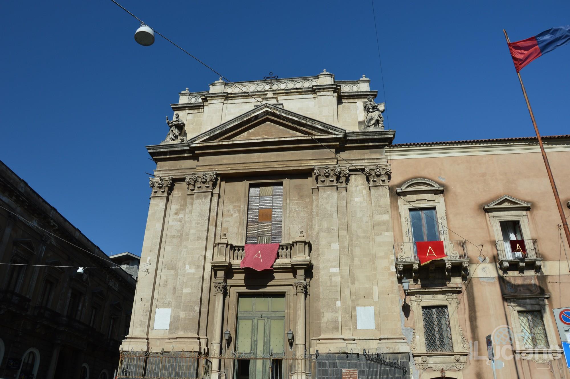 Chiesa San Domenico, durante i festeggiamenti per Sant'Agata 2019 - Catania (CT)
