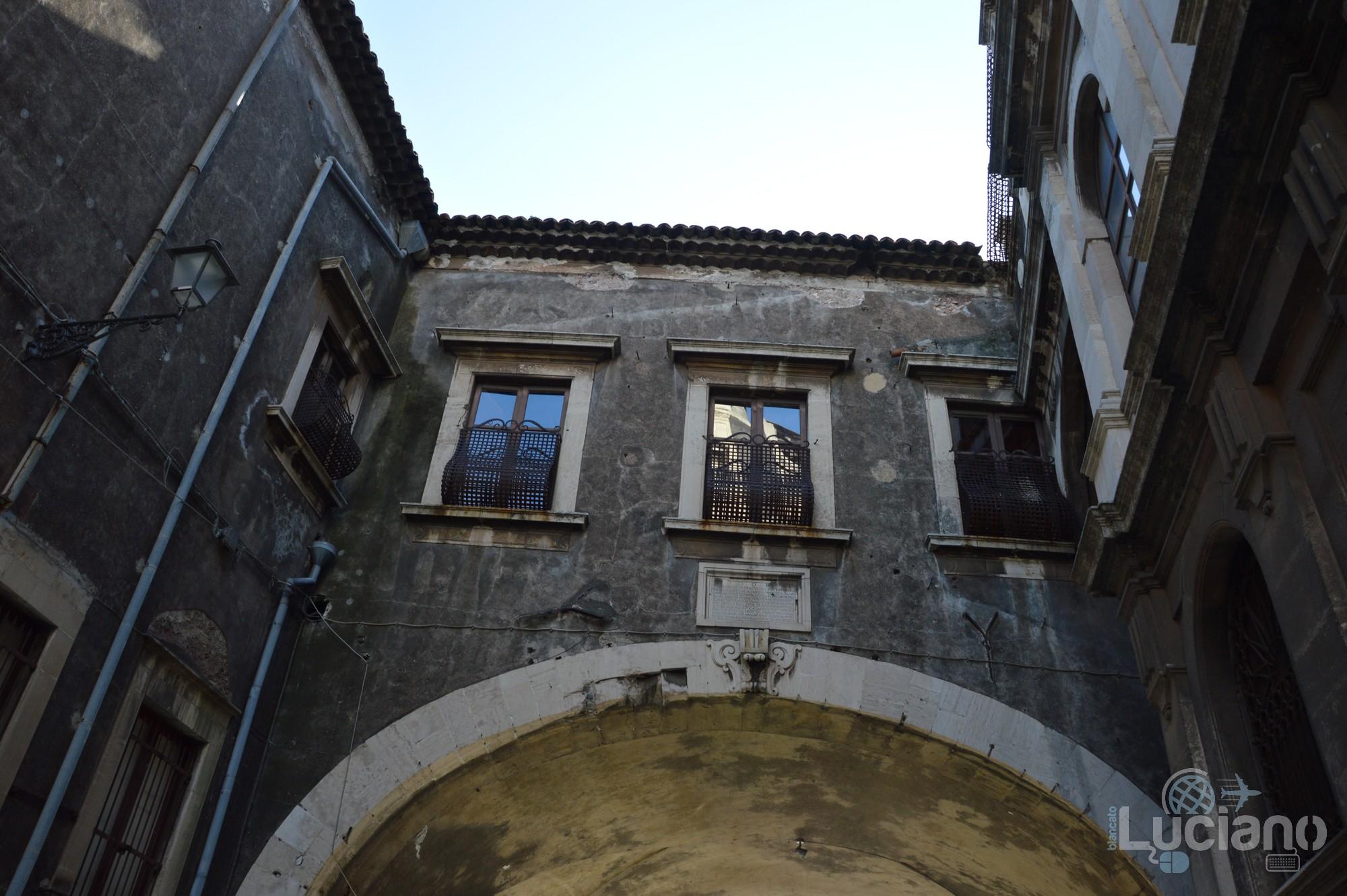 Arco di San Benedetto, durante i festeggiamenti per Sant'Agata 2019 - Catania (CT)