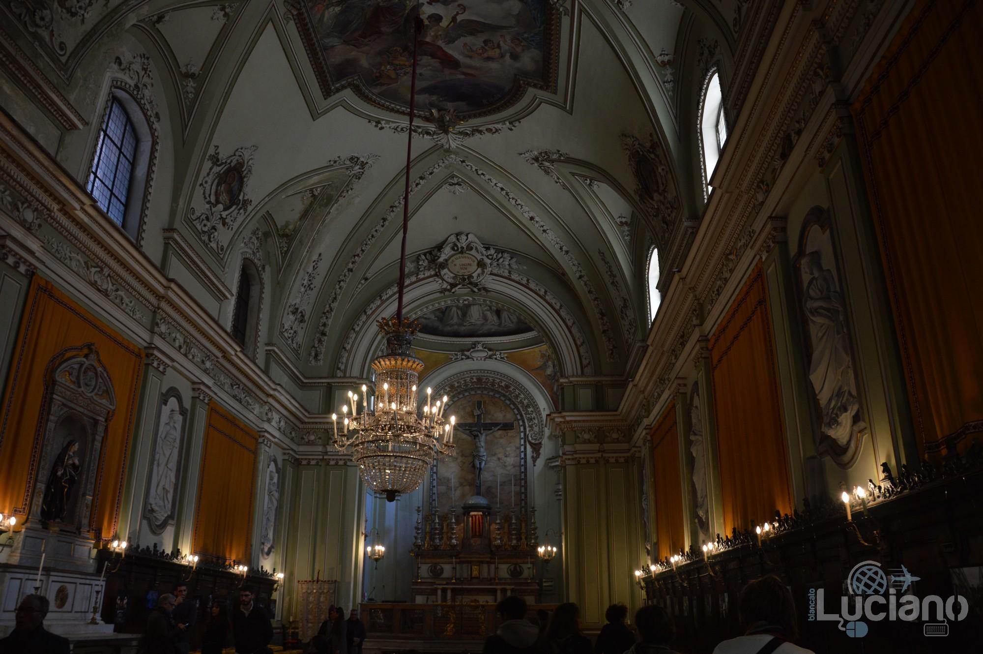 Interno della Chiesa di San Martino ai Bianchi, durante i festeggiamenti per Sant'Agata 2019 - Catania (CT)