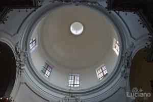dettaglio della Chiesa della Badia di Sant'Agata, durante i festeggiamenti per Sant'Agata 2019 - Catania (CT)