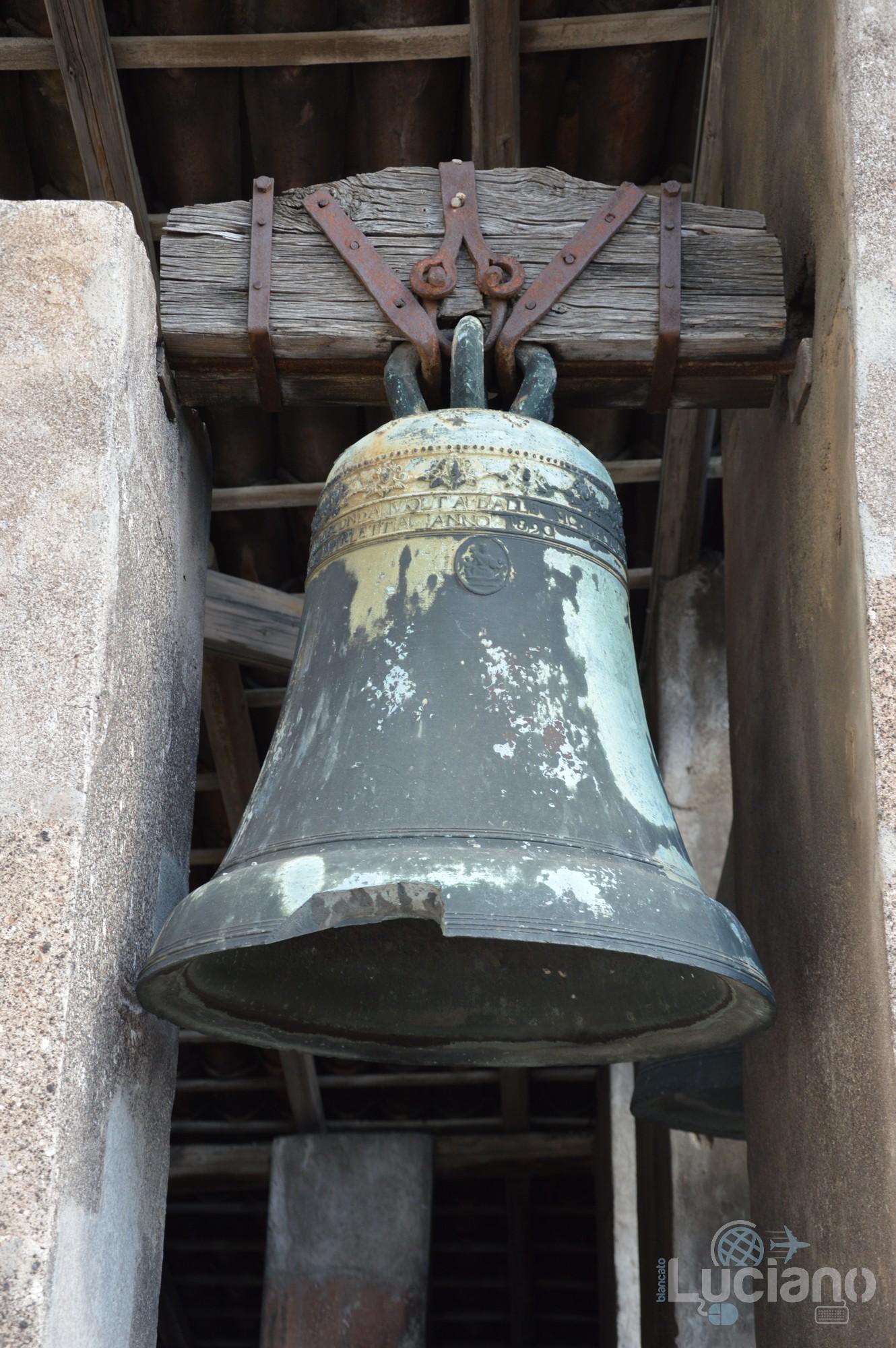 dettaglio, campana della Chiesa della Badia di Sant'Agata, durante i festeggiamenti per Sant'Agata 2019 - Catania (CT)