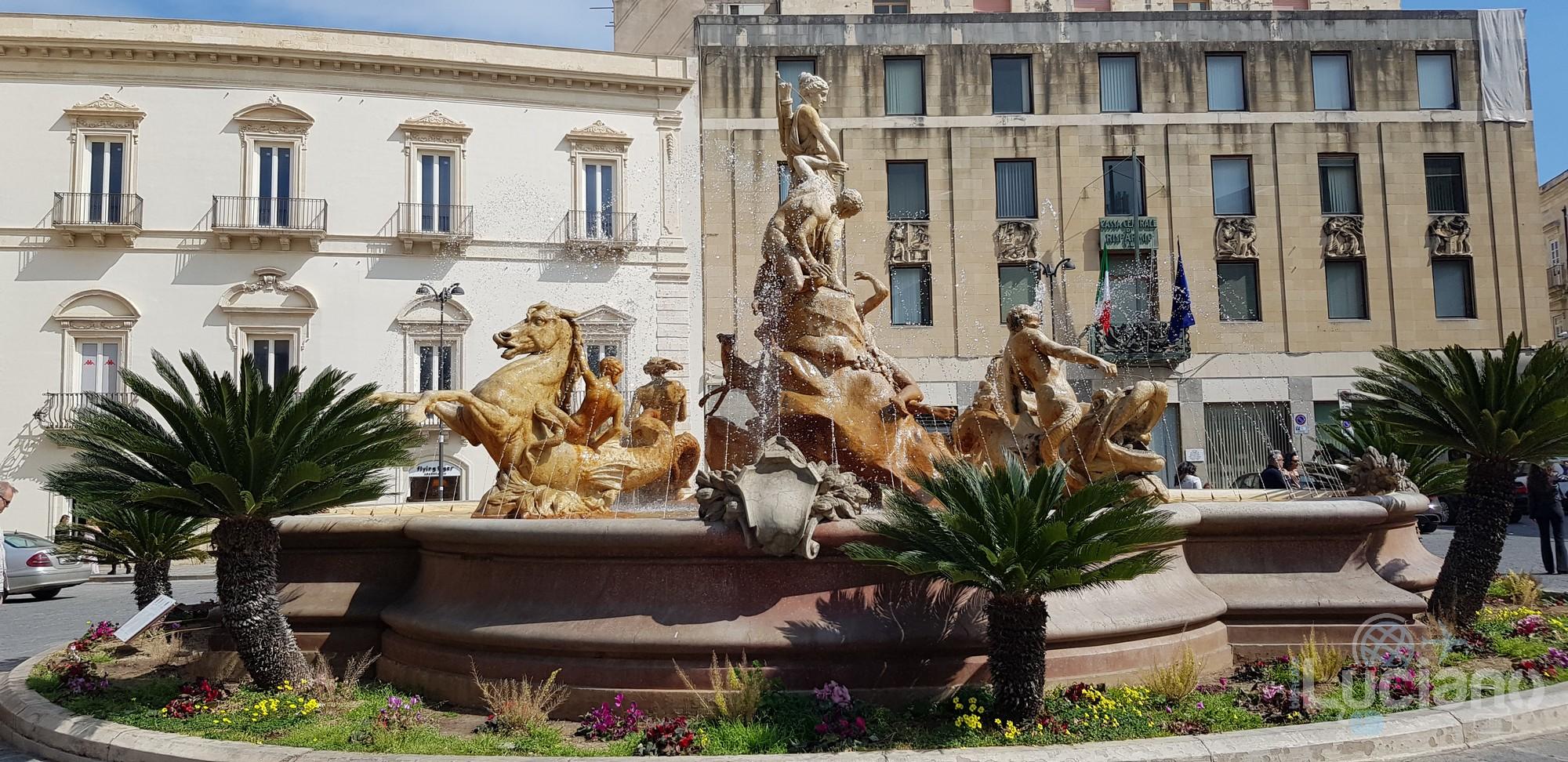 Siracusa - Piazza Archimede - Fontana di Diana - Ortigia