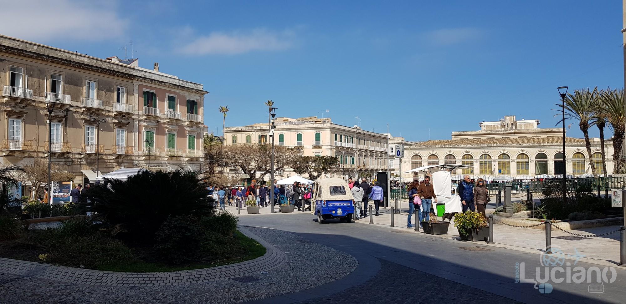 Siracusa - Largo XXV Luglio - Ortigia