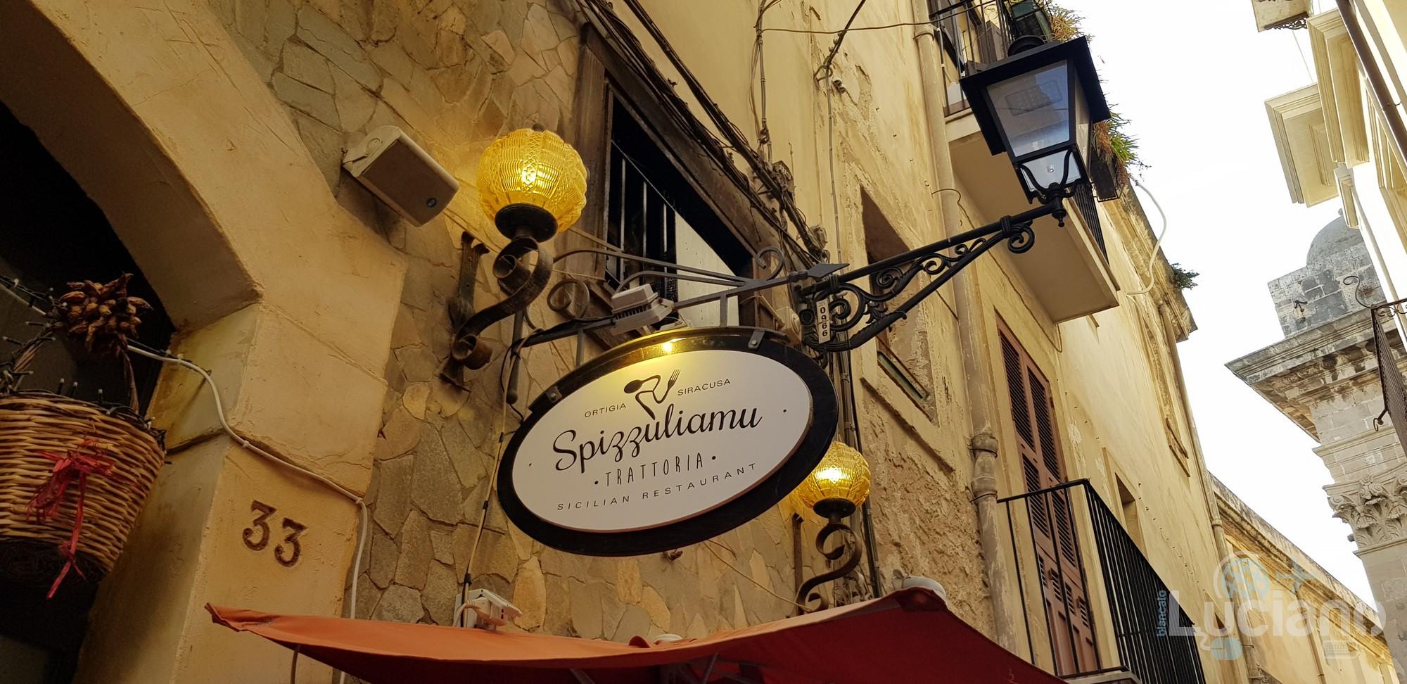 Siracusa - Spizzuliamu - Insegna