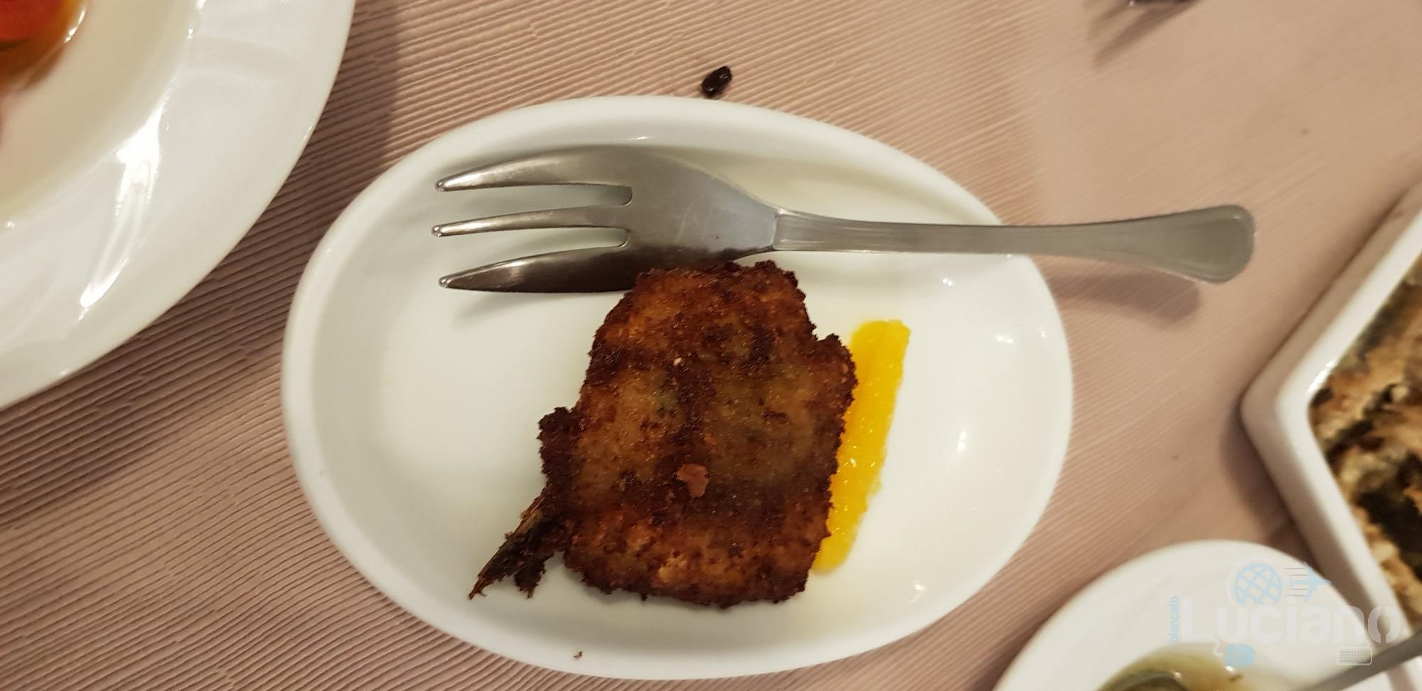 Trattoria Catania Ruffiana - Antipasti: polpetta sarde e beccafico