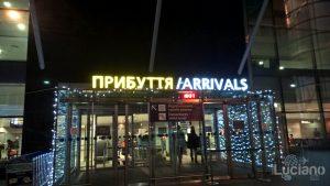 Aeroporto di Kiev-Boryspil' di Kiev - Ucraina