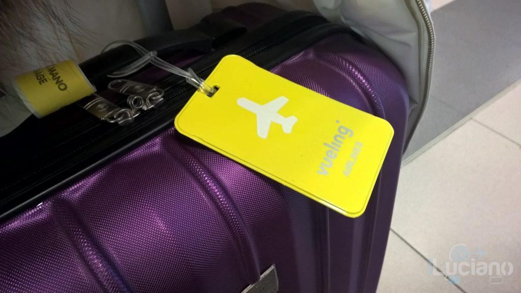 Il mio trolley brandizzato Vueling Airlines