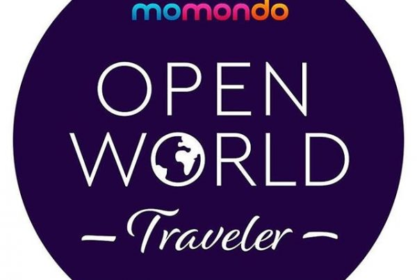 momondo open world traveler - logo