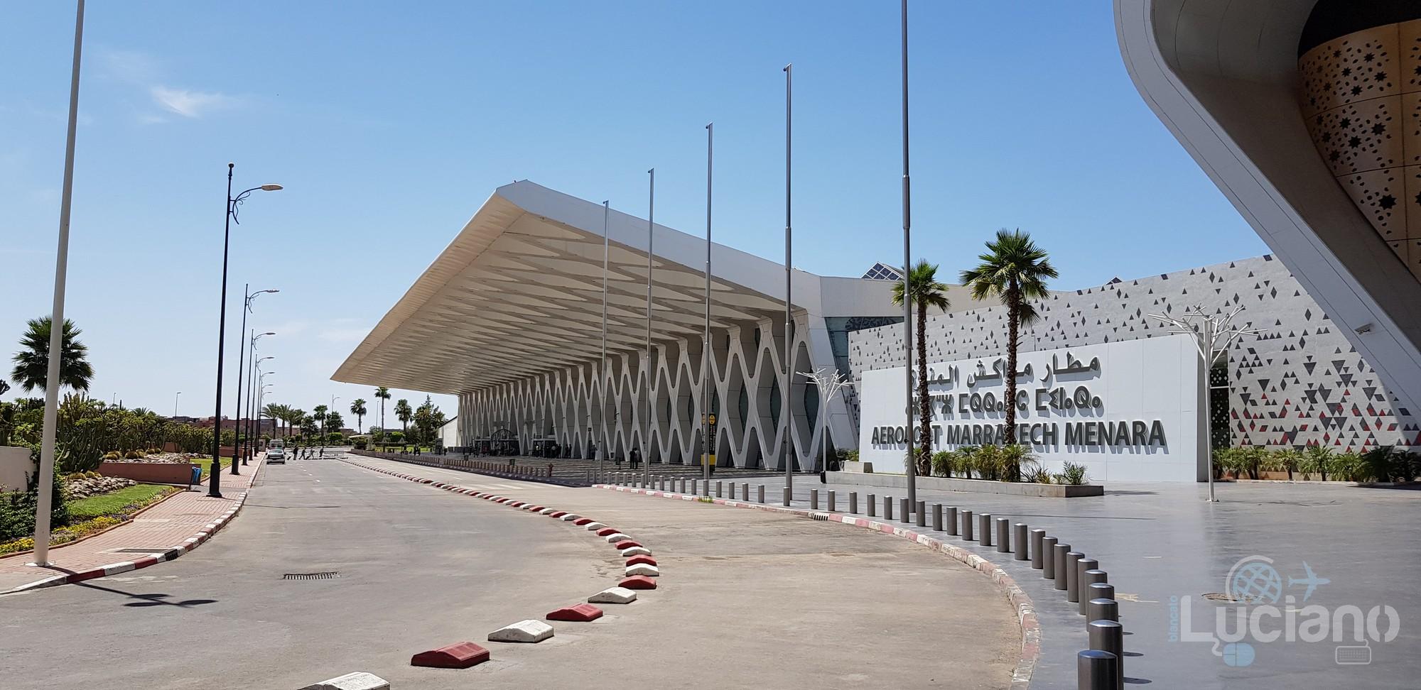 Come andare dall'aeroporto di Marrakech (RAK) al centro