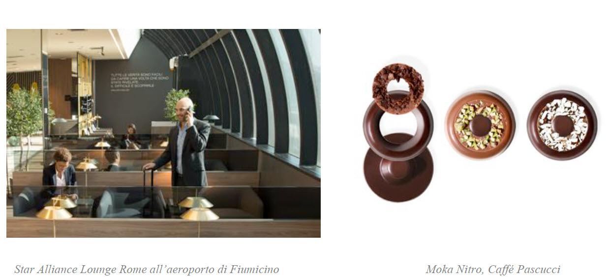 In occasione di San Valentino, Prima Vista Lounges by Aviapartner offre alla Lounge Star Alliance di Fiumicino l'esperienza della prima pralina componibile al mondo