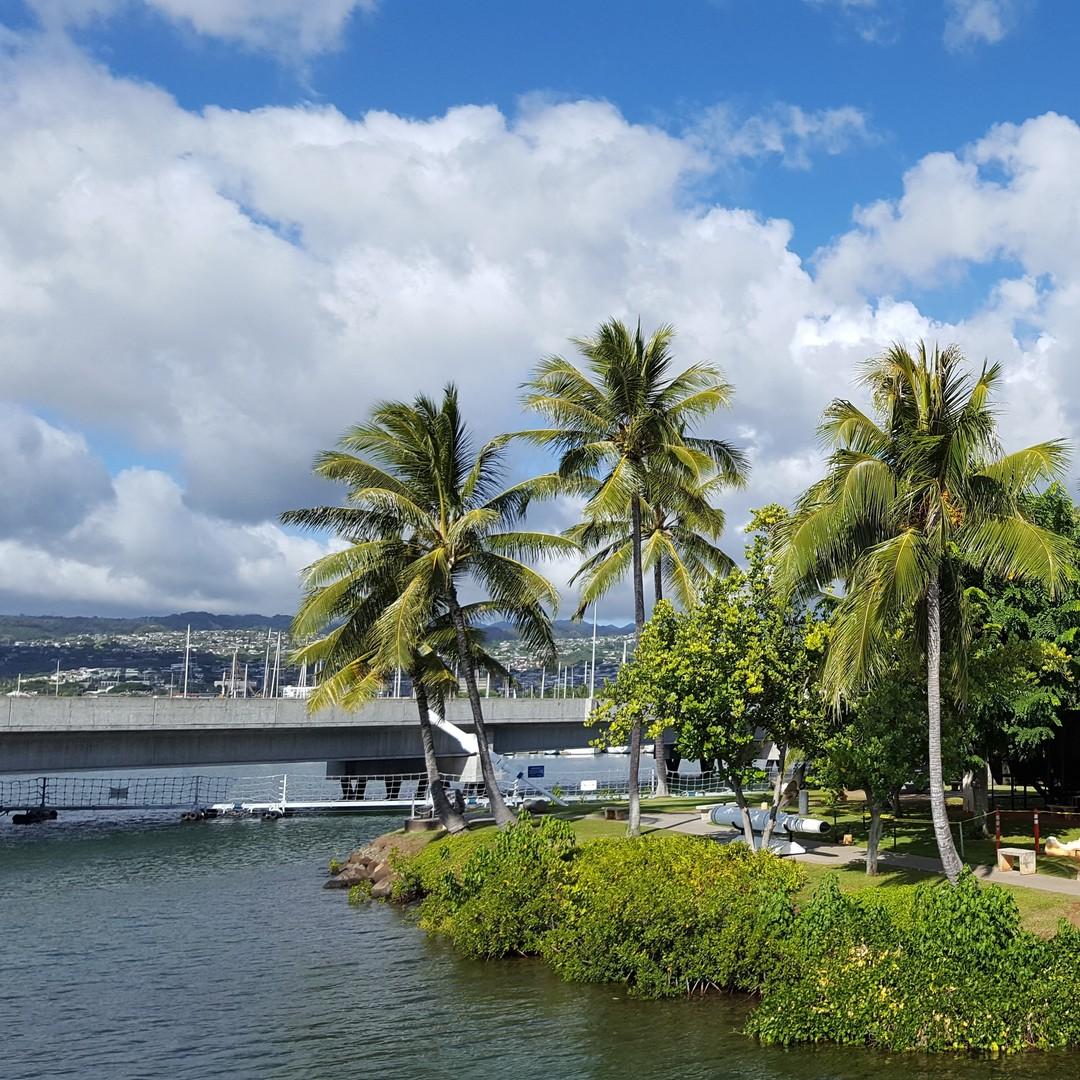"""L'attacco di Pearl Harbor conosciuto anche come """"Operazione Hawaii"""" sconvolse la storia della marina americana e del mondo il 7 dicembre del 1941, quando le forze aeronavali giapponesi attaccarono la flotta e le installazioni militari statunitensi nella base navale di Pearl Harbor. L'operazione segnò l'ingresso nella seconda guerra mondiale degli Stati Uniti d'America e si radicò, nell'opinione pubblica, un forte risentimento verso il Giappone. In poco più di un'ora i 350 aerei partiti dalle portaerei giapponesi fecero saltare in aria una corazzata; una seconda si capovolse, altre tre furono affondate. E alla fine di quel tragico attacco, il Giappone conquistò il Pacifico.#pearlharbor #hawaii #navy #travel #oahu #history #usa #honolulu #thexeon #photooftheday #instagood #pearlharborday #ussmissouri #ussarizona #wwii #photography #america #neverforget #travelgram #usarmy #military #worldwar2 #army #remember #marines #rememberpearlharbor #memorial #trip #ussarizonamemorial #japan - from Instagram"""